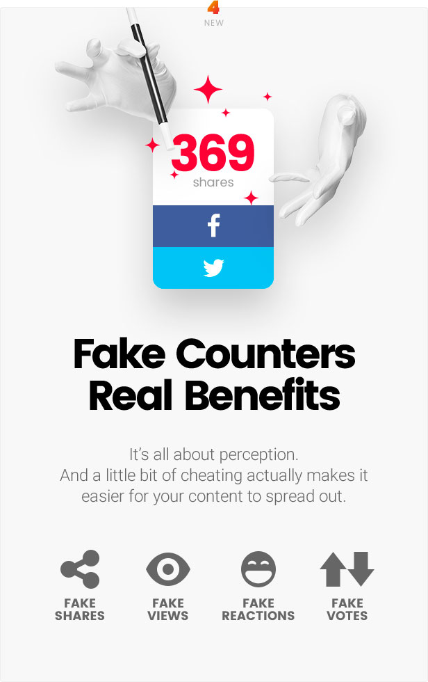 Fake counters